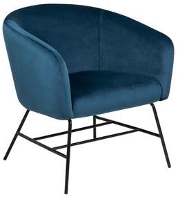 Design Fauteuil Blauw