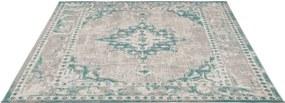 Vloerkleed Vintage - aqua - 240x340 cm - Leen Bakker