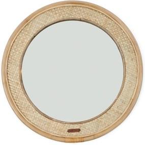 Rivièra Maison - Natural Weave Round Mirror Dia 68 cm - Kleur: naturel