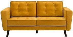 Bank Bristol 2-zits - geel - Leen Bakker