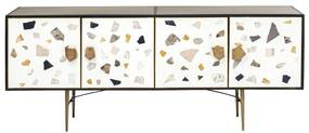 Kare Design Terrazzo Terrazzo Dressoir - 183x41x77cm.