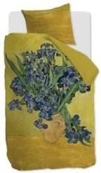 Beddinghouse Irises katoensatijn dekbedovertrekset 220TC - inclusief kussenslopen