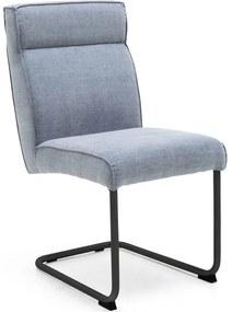 Goossens Knock Out blauw stof , modern design