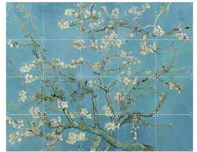 Van Gogh Amandelbloesem Wandsysteem 100 x 80 cm