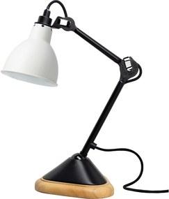 DCW Éditions Lampe Gras N207 Bureaulamp Wit