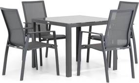 Lifestyle Ultimate/Mondello 90 cm dining tuinset 5-delig