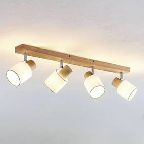 Wanessa plafondspot, 4-lamps - lampen-24