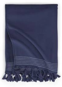 Walra Soft Cotton Hamamdoek 100x180cm 360 g/m2 Navy 1204403