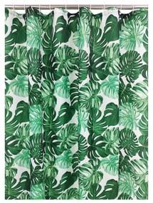 Douchegordijn bladeren - 180x200 cm