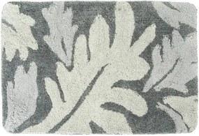 Badmat Differnz Antislip Folia Micro Fiber Grijs 90x60cm