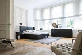 Goossens Bedframe Barcelona, 140 x 210 cm met oor