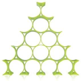 Kartell Infinity wijnrek geel groen