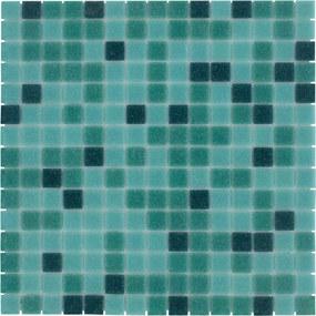 Mozaiek Amsterdam Vierkant Groen Mix 2x2