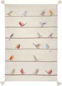 Art for Kids vloerkleed Vogeltjes - multikleur - 110x160 cm - Leen Bakker