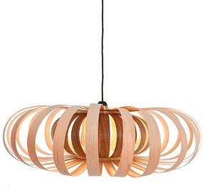 LJ Lamps Phi Pendant hanglamp- Hout - Design - Ovaal - Ovalen - Bloemvorm - Scnadinavisch