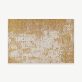 Genna vloerkleed, 160x230cm, goud