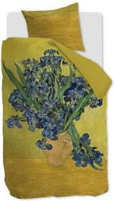 Beddinghouse Irises dekbedovertrekset van katoensatijn 220TC - inclusief kussenslopen