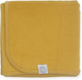 Deken 100x150cm - Mustard - Babydeken