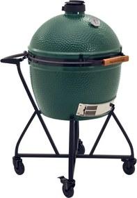 Big Green Egg XLarge kamado barbecue met verrijdbaar onderstel en zijtafels