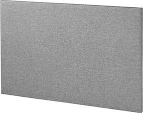 Hoofdbord 160 BASIC H5 effen grijs