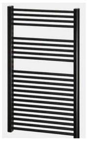 Designradiator Nile Gobi 160x60cm Zwart zijaansluting (Links Rechts aansluiting)