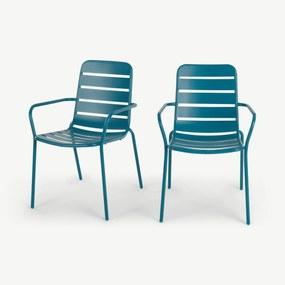 2 x TiceTuinstoelen, Donkerturkoois