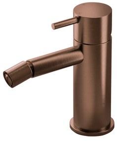 Bidetmengkraan Hotbath Cobber Geborsteld Koper PVD (excl. Waste)