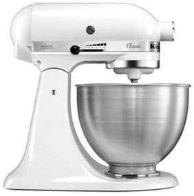 KitchenAid Classic mixer-keukenrobot 4,3 liter 5K45SSEWH - Wit
