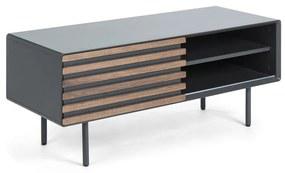 Kave Home Kesia Mat Grijs TV-meubel - 120x45x48.5cm.