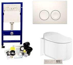 Geberit UP100 Toiletset set38 Grohe Sensia Complete douchewc met Delta drukplaat