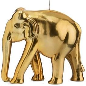 Wiedemann BIG Edition decoratieve kaars »Olifant«, goudkleur