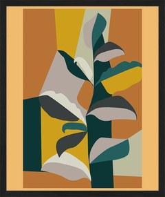 Any Image | Ingelijste print Modern exotic small: breedte 30 cm x hoogte 40 cm x dikte 2,5 cm multicolour posters & prints | NADUVI outlet