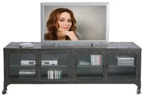 Kare Design Factory Industrieel TV-meubel - 160x40x56cm.