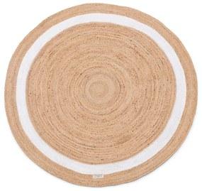 Rivièra Maison - Rocat Round Rug Natural Dia 160 - Kleur: bruin