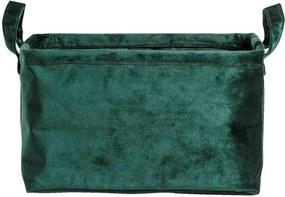 Opbergmand Mariska - groen - 16x28x20 cm - Leen Bakker
