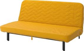 IKEA NYHAMN 3-zits slaapbank Met binnenveringsmatras/skiftebo geel - lKEA