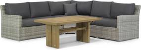 Garden Collections Giardino/Brighton dining loungeset 4-delig