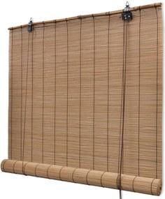 Rolgordijn Bamboe 100 x 160 cm bruin
