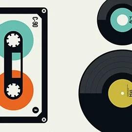 Mixtape&LP/EP - S - 80 x 100 cm