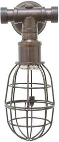 Sandford wandlamp old copper