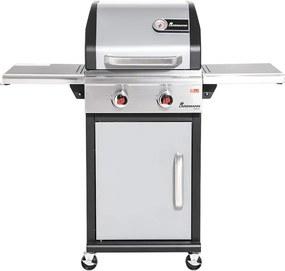 Gasbarbecue Triton PTS 2.0 Zilver