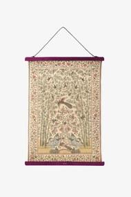 Roze poster hanger A2