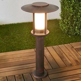 LED sokkellamp Pavlos, roest - lampen-24