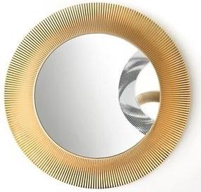 Kartell By spiegel 78 cm. rond koper