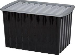 Opbergbox 58 liter Zwart