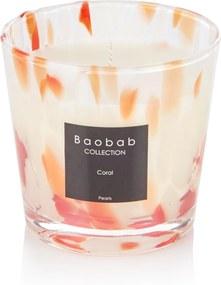 Baobab Collection Coral Pearls geurkaars