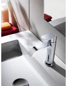 Hotbath Friendo wastafelmengkraan F003C geborsteld nikkel F003CGN