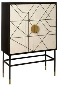 Renew Pisa Design Wandkast - 100x40x140cm.