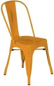 Tuinstoel oranje (type b)