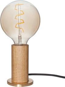 Tala LED E27 Touch tafellamp eiken